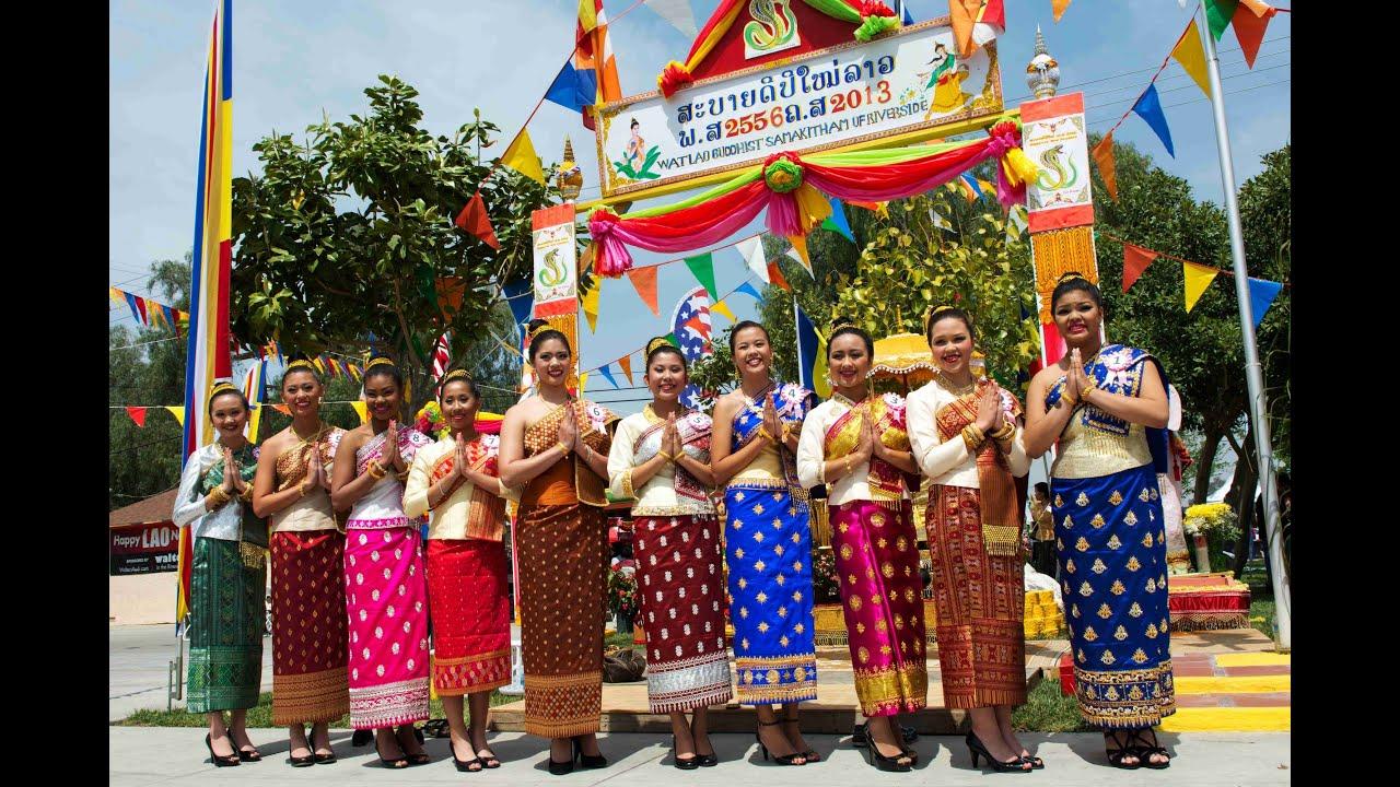 Lao New Year 2013 - Wat Lao Riverside, California - YouTube