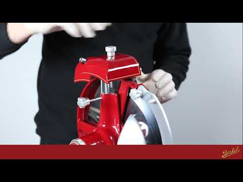 BERKEL AT HOME - VOLANO / FLYWHEEL SLICERS - TRAINING VIDEO