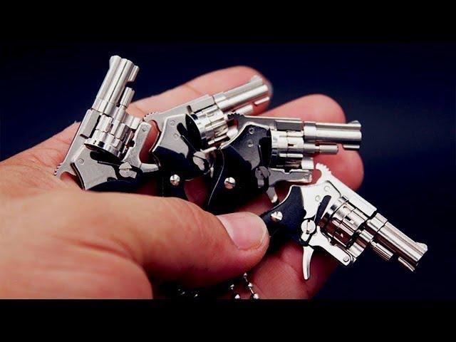 ¡5 armas MINIATURA que disparan balas reales!