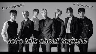 Gambar cover let's talk about SuperM