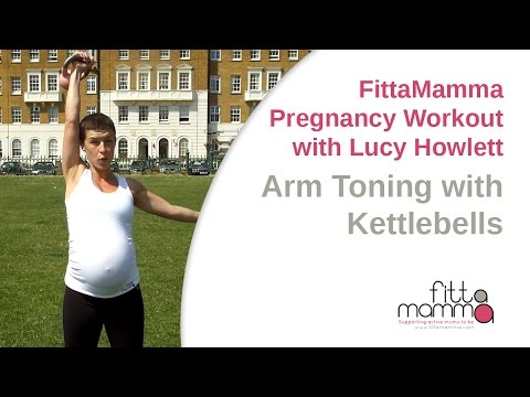 FittaMamma Pregnancy Workout: ArmToning with Kettleballs