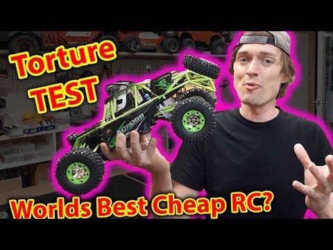 Unboxing & Torture Test - best CHEAP RC Car?  wltoys 12428
