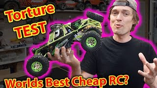 Unboxing & Torture Test - best CHEAP RC Car?  wltoys 12428
