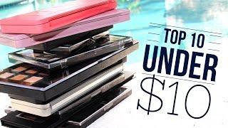 Top 10 Under $10 | Drugstore Eyeshadow Palettes