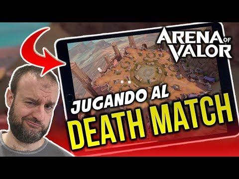 JUGANDO NUEVO MODO PARTIDA A MUERTE | DeathMatch | Arena of Valor | Black Ursus