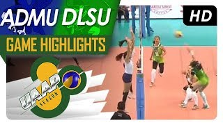 UAAP 80 WV: ADMU vs. DLSU | Game Highlights | April 15, 2018