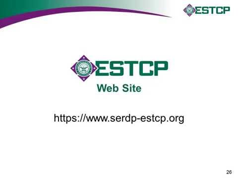ESTCP Funding Opportunities for Environmental Technologies – FY 2016