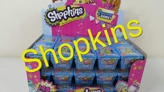 Shopkins Full Box 30 Blind Basket Unboxing Opening Toy Review Palooza