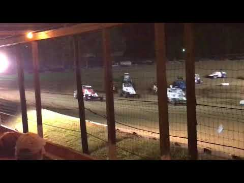 Charleston Speedway Sprint Car Feature Sept 1 2018