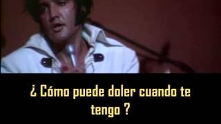 ELVIS PRESLEY - Sweet Caroline  ( con subtitulos en español ) BEST SOUND