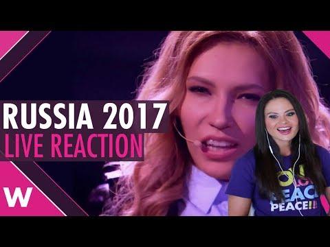 Julia Samoylova REACTION: