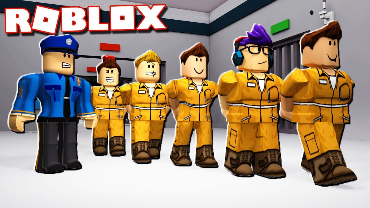 The Great Roblox Prison Escape Youtube