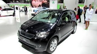 2013 Skoda Citigo Elegance - Exterior and Interior Walkaround - 2012 Paris Auto Show