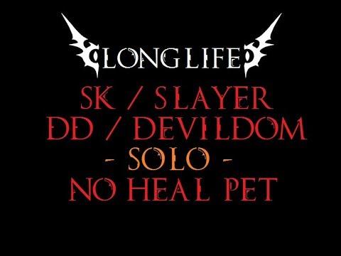 "Rappelz Longlife ""SK/Slayer"" Epic 9.5 DD *SOLO*"