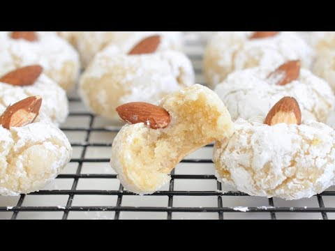 Italian Almond Cookies By Cooking With Manuela