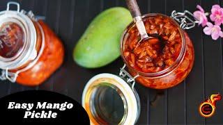 Easy Instant Mango Pickle |മാങ്ങാ അച്ചാർ ഇങ്ങനെ ഉണ്ടാക്കി നോക്കൂ| Manga Achar | Manga Urugai |Ep:813