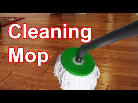 How to make cleaning mop using dc motor very useful for every household