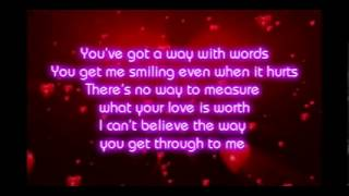 Shania Twain - You've Got A Way (Lyrics)