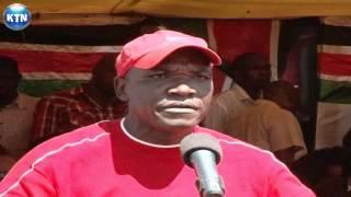 Fujo katika mazishi ya mzee Jason Aladwa