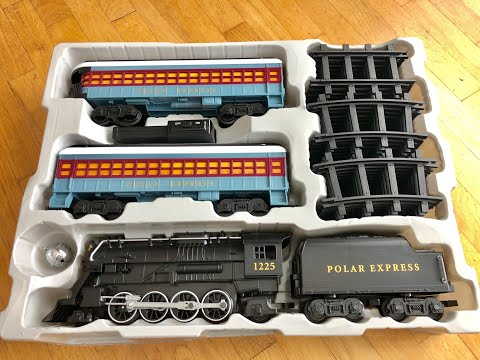 Lionel The Polar Express Battery-powered Model Train Set Unboxing and Review