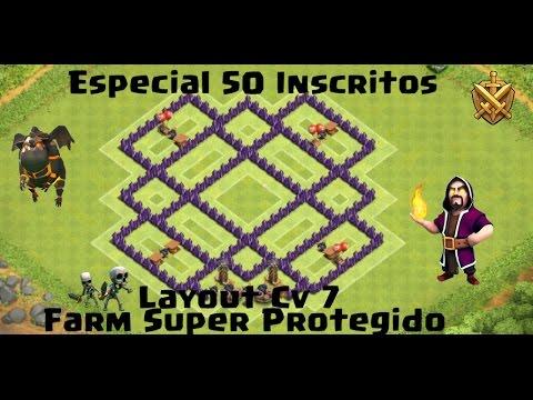 layout cv 7 super protegido farm especial 50 inscritos endlessvideo