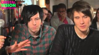 AmazingPhil and danisnotonfire Crystal Vision Episode 1 - The Jelly Challenge!