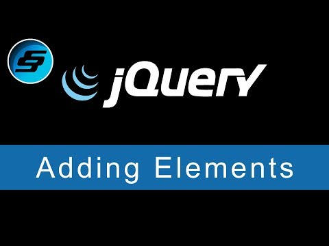 Adding Elements Using Append, Prepend, After, Before - JQuery Ultimate Programming Bible