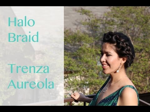 Halo Braid, Trenza aureola