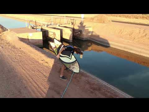 Canal Surfing In Arizona Mid-Winter!!