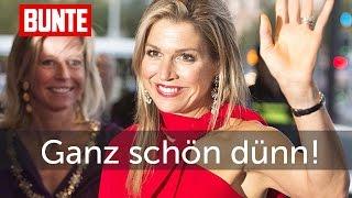 Máxima der Niederlande - Jetzt ist sie aber ganz schön dünn   - BUNTE TV
