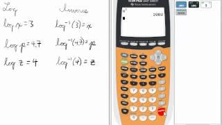 Inverse Logs Calculator Ti Calculator Logarithms
