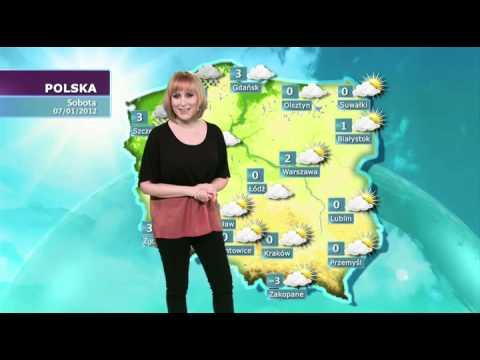 pogoda dla polski na dzis
