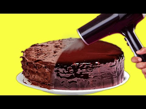 29 CHOCOLATE RECIPES THAT WILL MAKE YOUR LIFE BETTER || Zebra Cake Recipe and Chocolate Decor Ideas