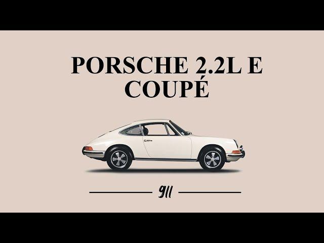 Porsche 911 2.2L E 1969