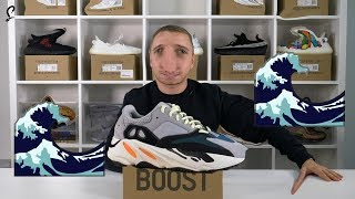 How WAVEY 🌊 is the adidas YEEZY WAVE RUNNER 700?! Review Unboxing & HONEST THOUGHTS 🌊🌊🌊