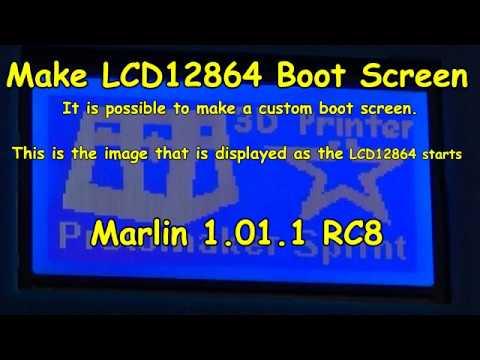 Make LCD12864 Boot Screen by Protomaker Black Sprint Original 3D Printer