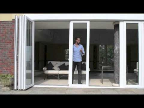 The New Wave Door - the amazing uPVC Slide and Swing Patio Door System -  Better than a BiFold!!!
