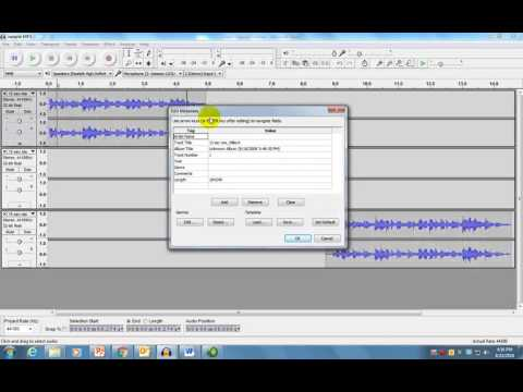 Audacity - Creating MP3 Files