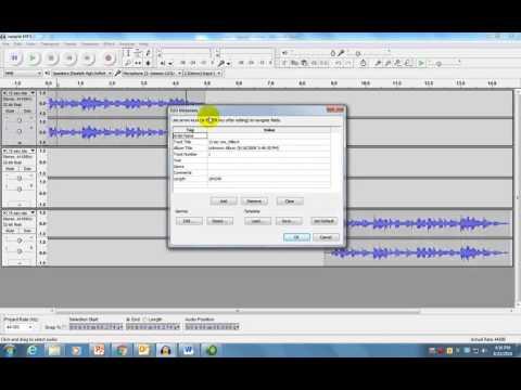 Audacity - Creating MP3 Files
