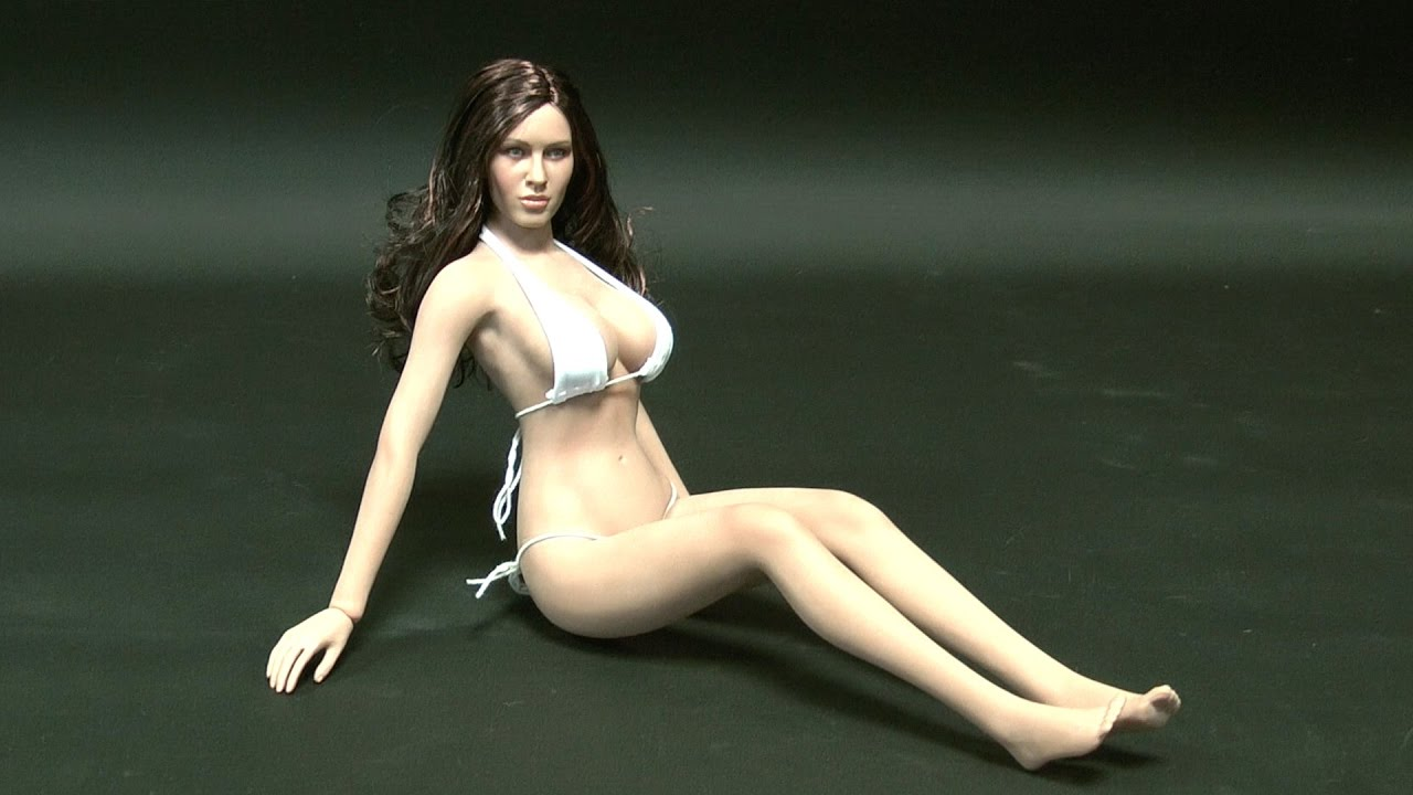 Phicen PLLB2014 S09 Suntan, Large Breast Female Seamless 1:6 Action ...
