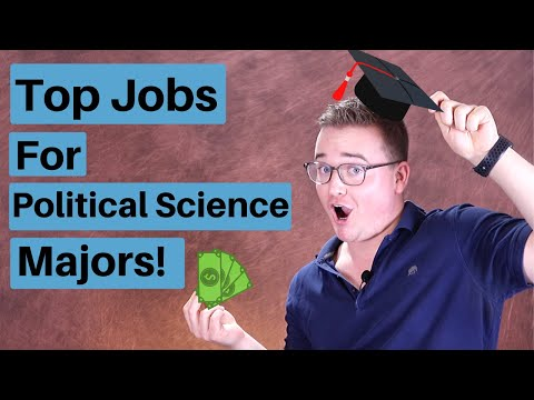 Top 10 Jobs For Political Science Majors! (High Paying)