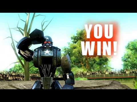 REAL STEEL WRB-Sarge vs Metro (ЖИВАЯ СТАЛЬ)