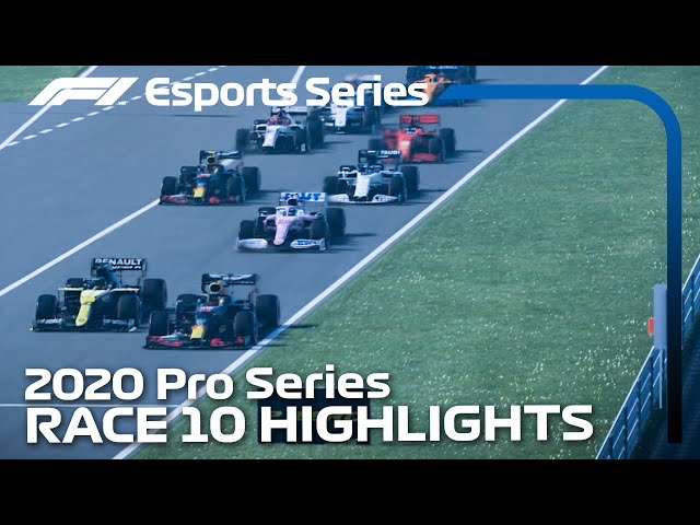 2020 F1 Esports Pro Series presented by Aramco: Race 10 Highlights