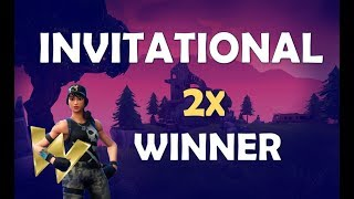 NA INVITATIONAL WINNER | 1 OF 2 WINS - (Fortnite Battle Royale)
