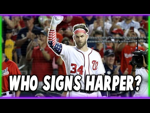 BRYCE HARPER is Going to Sign Here?!