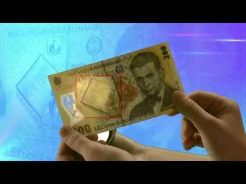 Elemente de siguranţă ale bancnotelor - BNR Să vorbim despre bani și bănci
