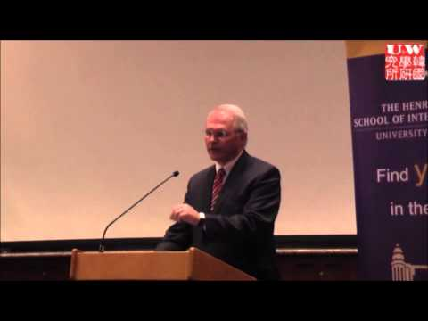 "Ambassador Christopher Hill: ""Regional Dynamics in NE Asia and the Future of US - S. Korea Relations"