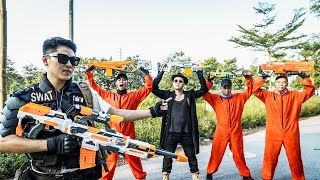LTT Game Nerf War : Squad Justice SEAL X Nerf Guns Fight Braum Crazy Crime Hunting