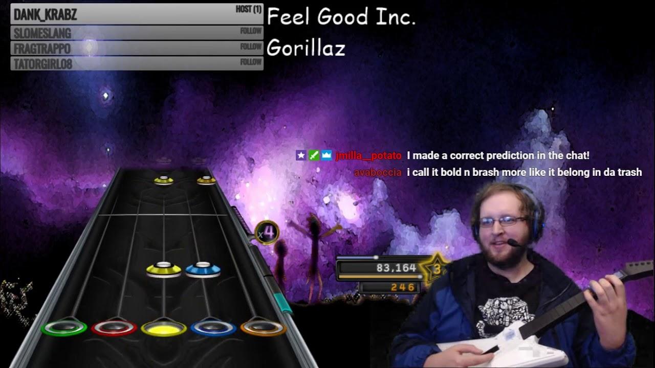 Gorillaz clone hero download