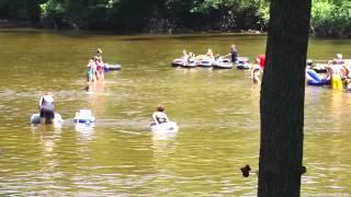 Muskegon River Tubing - 2012